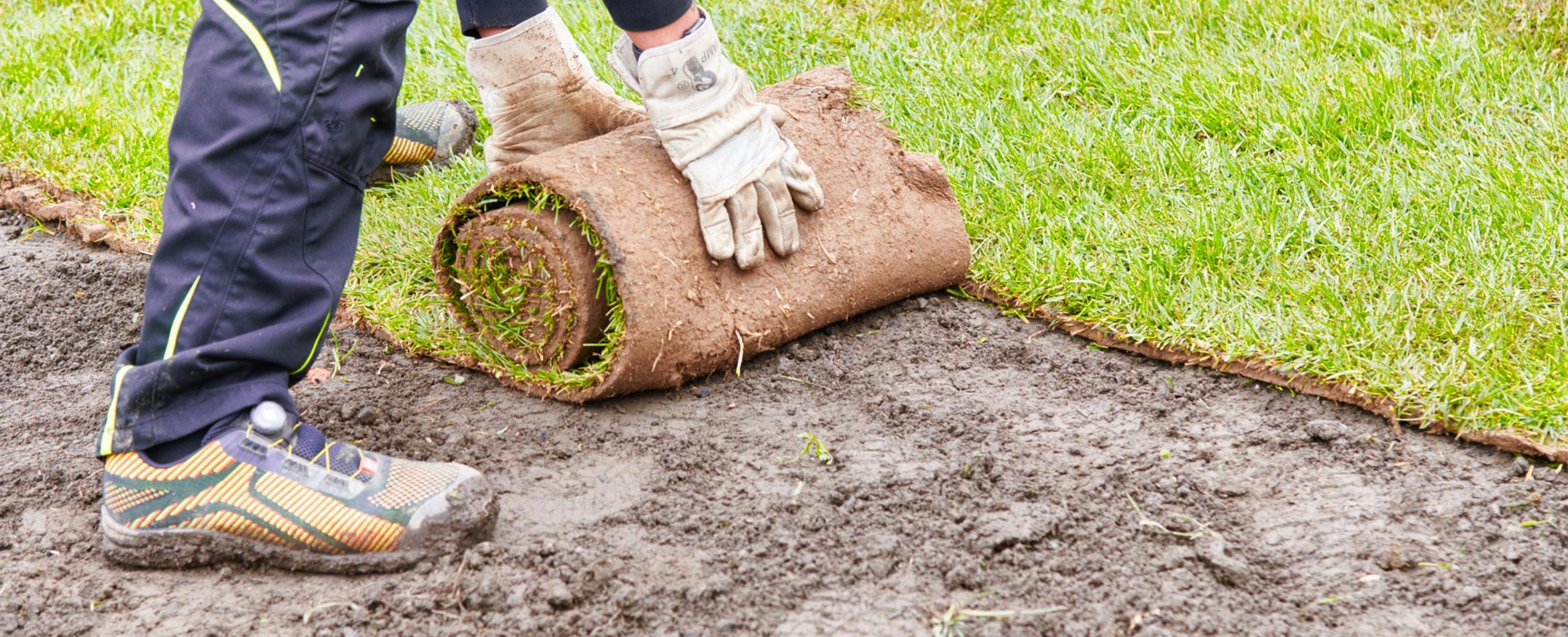 Dienstleistungen in den Bereichen Gartenbau und Landschaftsbau