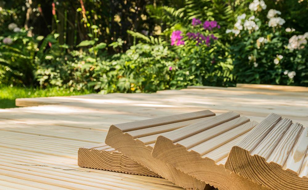 Holzböden für den Aussenbereich