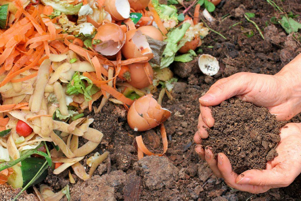 Komposthaufen, richtig anlegen, pflegen und umsetzen