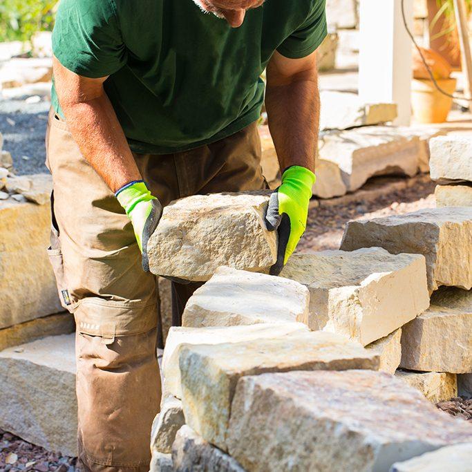Mauerarbeiten aus Naturstein