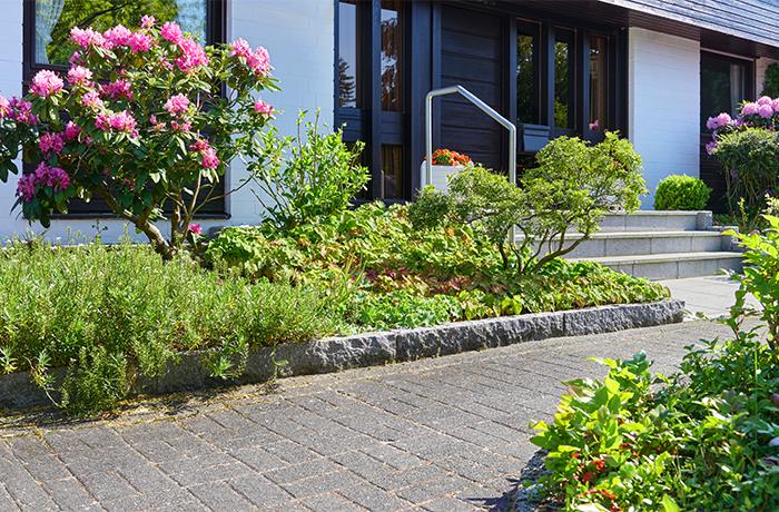 Vorgarten – Der kleine Garten vor dem Haus.