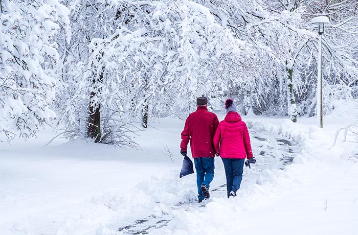 Mit unserem Winterdienst übernehmen wir für Sie die gesetzliche Räum- und Streupflicht.