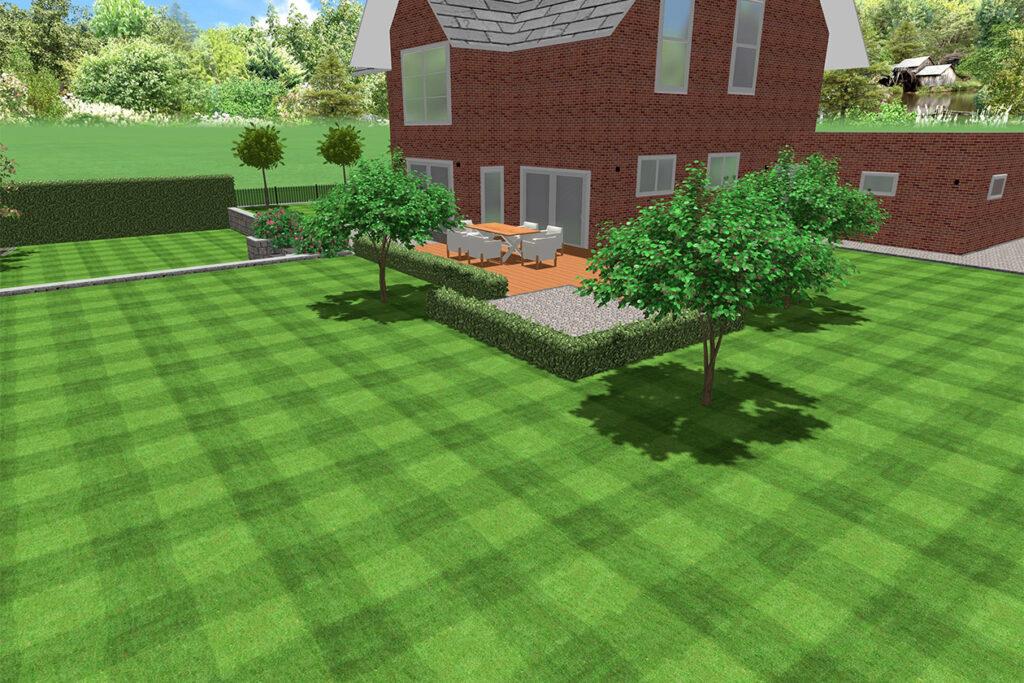 Moderne Gartenplanung mittels 3D-Software